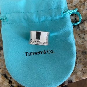 Tiffany and Co 1837 925 Silver Ring. Size 6
